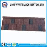 Soncapの石造りの上塗を施してある金属の屋根ふきの鉄片タイル