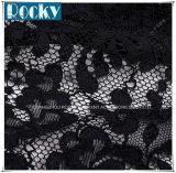 Tela luxuosa do laço da guipura de Qality da parte superior da tela do vestido