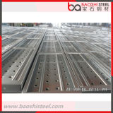 Hot DIP Galvanized Ringlock Scaffold Steel Plank / Metal Deck