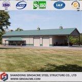Construction commerciale de cadre de porte préfabriqué pour cultiver le système