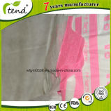 Colore rosa adulto stampato a gettare del pannolino dell'ospedale dell'OEM