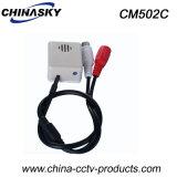 Cctv-Überwachung-Mikrofon für Sicherheitssystem-kleine hohe Empfindlichkeit (CM502C)