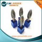 Bavures rotatoires abrasives et meulantes de carbure cimenté d'outil