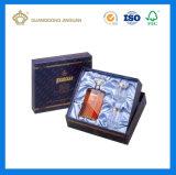 Составленная вычурой напечатанная бумагой коробка дух картона упаковывая (с коробкой крышки)