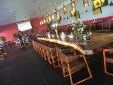 (SL-8304) Tabela de jantar de jantar Home da madeira contínua da mobília do restaurante do hotel