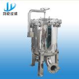 Alto filtro de bolso multi de la cubierta del acero inoxidable de la temperatura