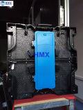 Colore completo esterno 1/7scan di P5.95mm armadietto di esposizione impermeabile di alluminio di fusione sotto pressione del LED di 500mm x di 500mm