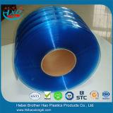 Sicherheit flexibler ESD-weich blauer doppelter gewellter Plastik-Belüftung-Streifen-Vorhang Rolls