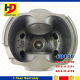 Großhandelsexkavator-Dieselmotor zerteilt Kolben 6D140 mit Pin von Soem (6211-31-2130)