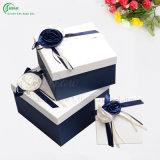 Empaquetage blanc de cadres de papier de boîtes-cadeau (KG-PX038)