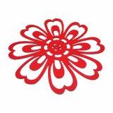 3mm e 5mm Spring Season Polyester Placemat para mesa e decorações