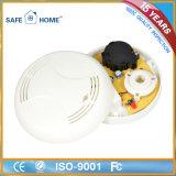 Alarma con pilas del detector de humos con alta sensibilidad