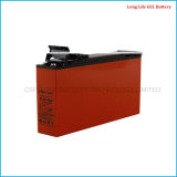 12V160ah dimagriscono la batteria del gel, batteria terminale anteriore per energia solare