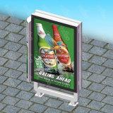 전시 램프 포스트 프레임 발광 다이오드 표시 옥외 Mupis 광고