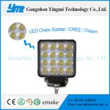 Indicatore luminoso fuori strada di funzionamento del lavoro della lampada LED dell'inondazione quadrata 48W di Ymt