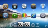 104*205mm 주춤함 6.0 텔레비젼 3G RDS iPod를 가진 Toyota 보편적인 DVD 플레이어를 위한 Mtk3360 해결책 쿼드 코어 차 GPS