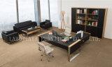 새로운 현대 가죽 PVC 사무실 행정상 책상 (V30A)