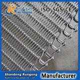 Alimento de congelación de congelación espiral flexible de la industria de la banda transportadora del espiral de Rod