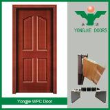 Bois amical d'Eco de porte en plastique de porte de WPC et prix bas composé en plastique de porte