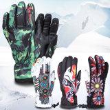 Luvas impermeáveis ao ar livre do esqui do Snowboard