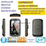 "Novo 3.5 ""320 * 480 Capacitive Touch WiFi Impermeável IP65 motocicleta Bike Car Portable GPS Navigator com Wince 6.0, Cortex-A7, 800MHz CPU, Bluetooth Set"