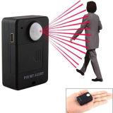 Diebstahlsicherer Bewegungs-Befund-Warnungssystem-induktiver Infrarotfühler-Audioüberwachung, die A9 Miniradioapparat PIR Alarm Wartungstafel-G/M in Position bringt