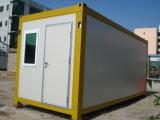 Recipiente pré-fabricado bem-desenvolvida da casa/casa móvel do recipiente