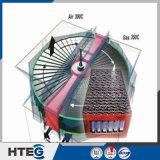 エナメルの空気予熱器のための波形の食器かごかBasketedの発熱体