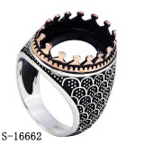 Hotsale Model Silver Copper Jewelry Ring for Man