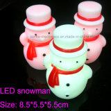 La luz de la noche de los regalos LED de la Navidad que contelleaba con insignia imprimió (4027)