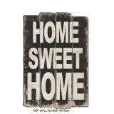 Muestra de madera decorativa rústica del arte con las palabras '' hogar dulce casero ''