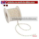 Weiße Spule der Perlen, die Dekor-Hauptdekoration (W1005, Wedding sind)