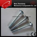 Kohlenstoffstahl-galvanisierte Pilz-Kopf-Quadrat-Stutzen-Wagen-Schraube DIN603