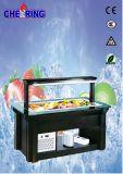 Utilisation commerciale de buffet de refroidisseur pour le réchauffeur de nourriture