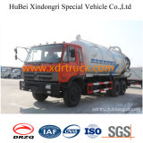 하수 오물 흡입 유조 트럭 18.3cbm Dongfeng