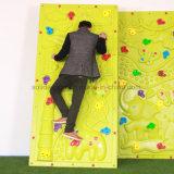 Verwendete mobile Felsen-Kletternwand, Plastikfelsen-Wand für Gärten, selbst gemachte kletternde Wand