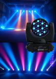 RoHS CertiificateのClubeのイベント党のためのPowercon DMXポートが付いている高い明るさ36*3W 4in1 RGBW LED Mvoignのヘッドビームライト