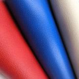 Cuoio sintetico di colore luminoso per il pattino (HST313)