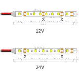 UL SMD 1210 30 tira flexível do diodo emissor de luz do diodo emissor de luz 3528