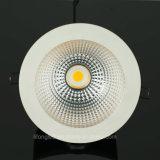 Diodo emissor de luz montado encaixado Downlight da ESPIGA do CREE 30W