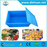 Caixa de armazenamento plástica Foldable barata/caixas plásticas da modificação