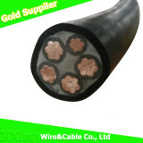 fio isolado XLPE/PVC/PE de cobre do cabo do condutor 0.6/1kv