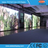 P10 pantalla a todo color fija de interior LED TV