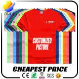 De goedkoopste Prijs Aangepaste Volwassen T-shirt van het Beeld van het Embleem Facultatieve
