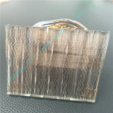 Vidrio del arte/vidrio helado claro/vidrio decorativo con la talla eléctrica