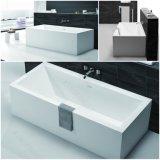 Ton van het Bad van de Steen van Sanitaryware de Kunstmatige Marmeren Freestanding Hete (BT170808)