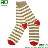 Vente en gros Stripes Happy Christmas Dress Socks