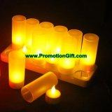 Nachladbare LED-Kerze