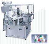 Tipo linear máquina de 5 galones de etiquetado de la máquina de rellenar del agua de la bebida