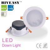 Pizca negra Ce&RoHS del proyector LED Downlight de 12W LED